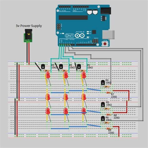 pnp transistor driver arduino multiplexing with npn and pnp transistors
