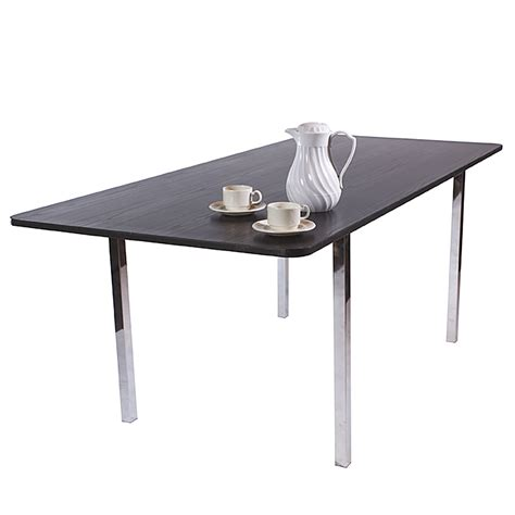 Black Boardroom Table Tb25 Black Rectangular Boardroom Table Inspire Hire