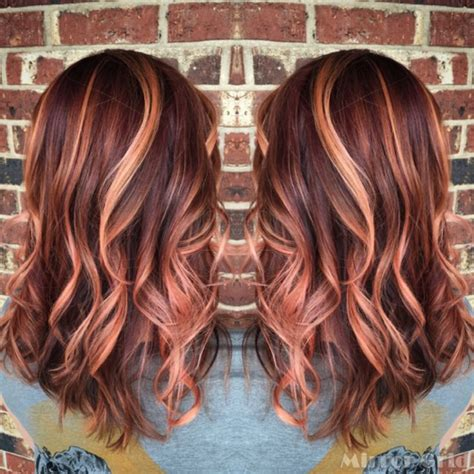 chocolate colored hair gold hair sherbet colored hair hair do s