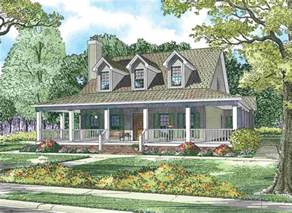 Country Homes With Wrap Around Porches House Plans With Wrap Around Porches