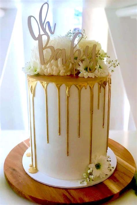 How To Make Baby Shower Cakes For by How To Make A Drip Cake 50 Amazing Drizzle Cakes To