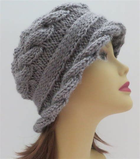 knit hat with brim pattern free 307 best images about k 246 t 233 smint 225 k knitting patterns on