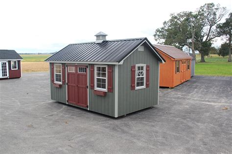 Overholt Sheds by Photo Gallery Of The Lancaster Style Shed From Overholt In
