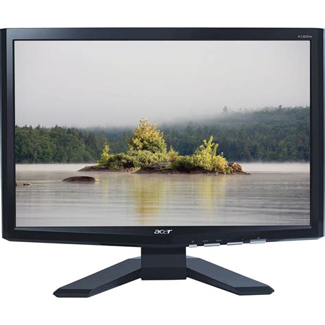 Monitor Widescreen acer x193wb 19 quot widescreen lcd monitor et cx3wp 002 b h