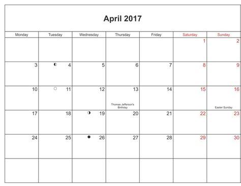 Kalender 2017 April Kalender April 2017 Zum Ausdrucken Kalender 2016 Pdf