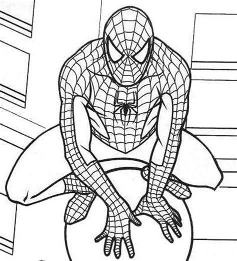 spiderman coloring page pdf marvel spiderman coloring pages drenge pinterest
