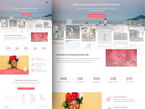 airbnb ui kit airbnb landing page ui freebies