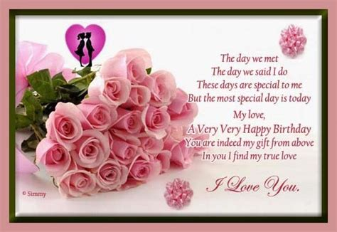 Heartiest  Ee  Birthday Ee   Wishes For Love Free For Husband
