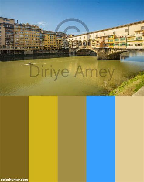italy colors ponte vecchio florence italy color scheme color