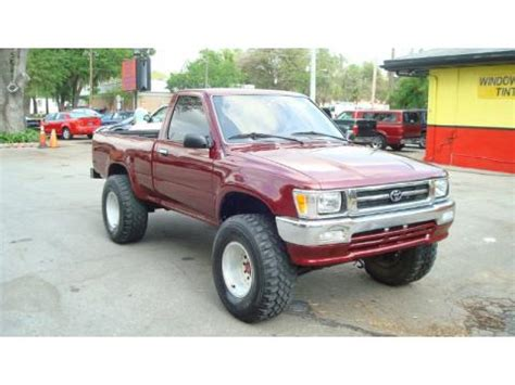 Used 4x4 Toyota Trucks For Sale Used 1992 Toyota Deluxe Regular Cab 4x4 For Sale