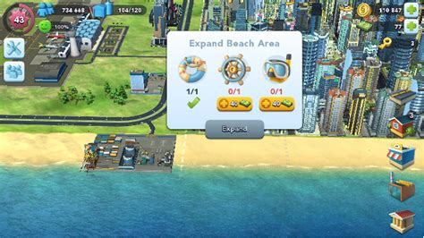 Find Giveaways - can t find beach items on simcity buildit arqade