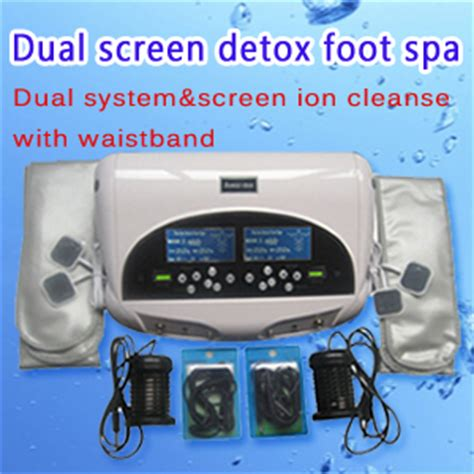 Screen Detox by Dual Screen Ion Detox Foot Spa Dual System Screen Ion