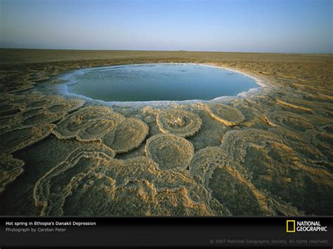 The Place On Earth Broad Canvas Danakil Depression The Place On Earth