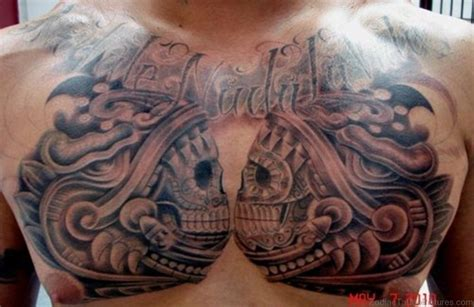 aztec chest tattoos aztec chest tattoos www pixshark images galleries