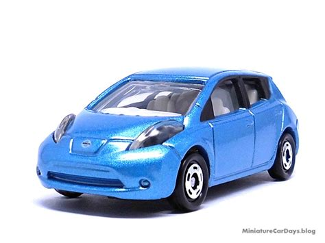 tomica nissan leaf miniaturecardays blog トミカ ニッサン リーフ