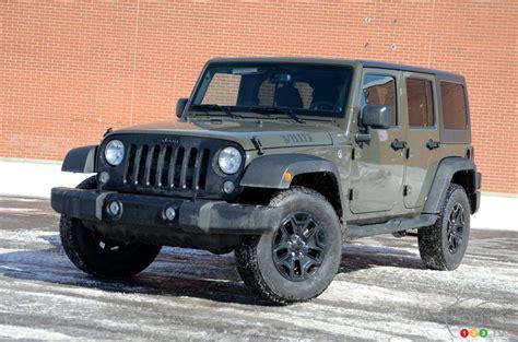 Willys Jeep Unlimited Le Jeep Wrangler 2016 En Version Willys Un Vrai Classique