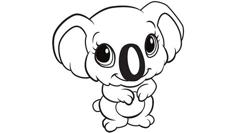 printable koala coloring pages learning friends koala coloring printable
