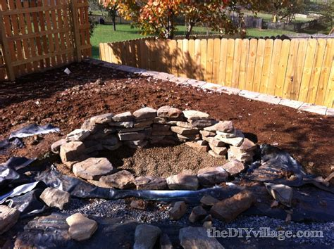what rocks to use for pit building a stacked pit the diy