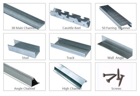 stud and track building material light weight steel c z u