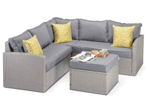 outdoor rattan corner sofa elegant rattan corner sofa outdoor mediasupload com