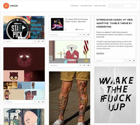 themes for tumblr best 30 best tumblr themes want to improve your blog
