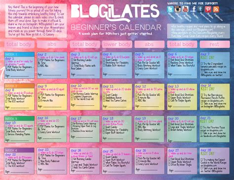 blogilates beginner s challenge health and for