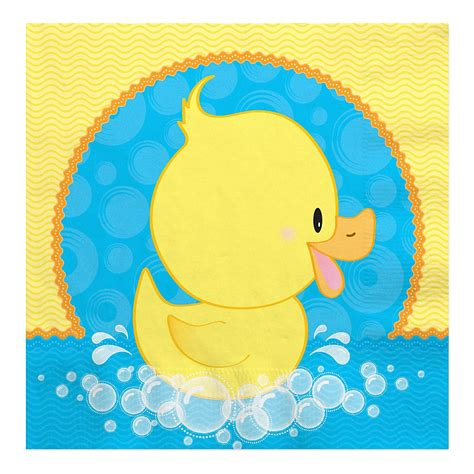 duck baby shower pato ducky baby shower servilletas de almuerzo 16 ct bigdotofhappiness babies