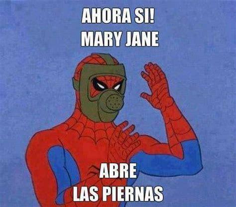 Mary Jane Memes - los memes de spiderman en espa 241 ol taringa