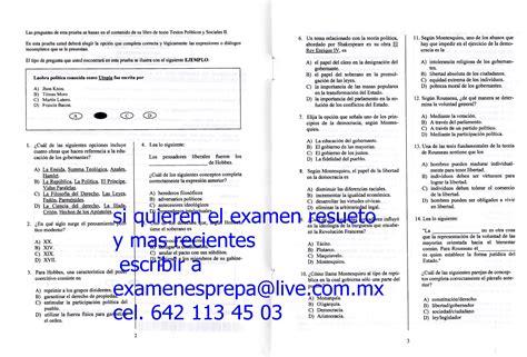 examenes prepa abierta plan 33 y 22 modulos examenes reales prepa abierta actualizados taringa