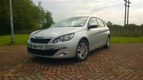 peugeot car leasing uk peugeot 308 e thp full on the road review