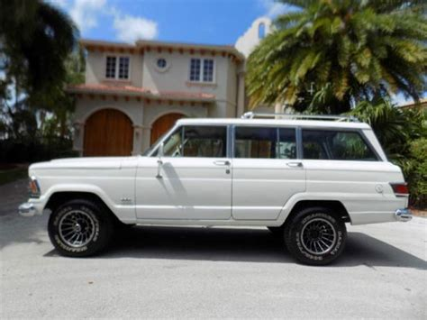 jeep for sale az 1972 jeep wagoneer classic car sale by owner in miami