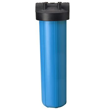 Housing 20 Inch Nanotec Blue pentek 150233 whole house filter housing 1 in out 20 big blue