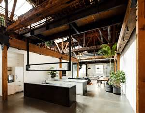 Warehouse converted into open office