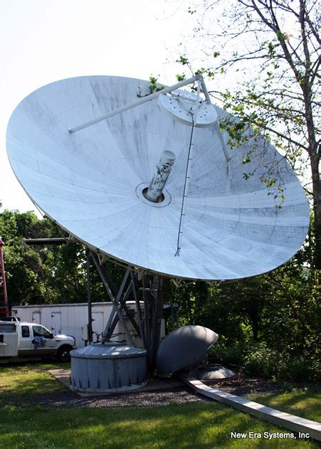 scientific atlanta 10m c band earth station antenna
