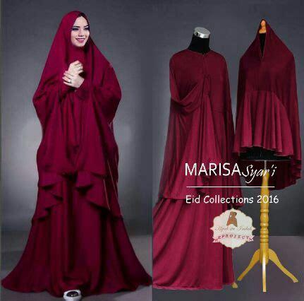 Baju Gamis Pesta Marisa Set Bl by Baju Gamis Jumbo Marisa Syari A175 Busana Muslim Terbaru