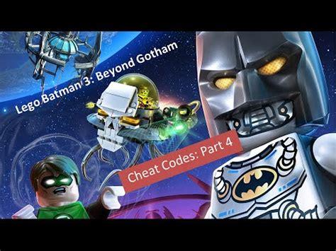 tutorial lego batman xbox lego batman 3 beyond gotham cheat codes part 4 of 4 xbox
