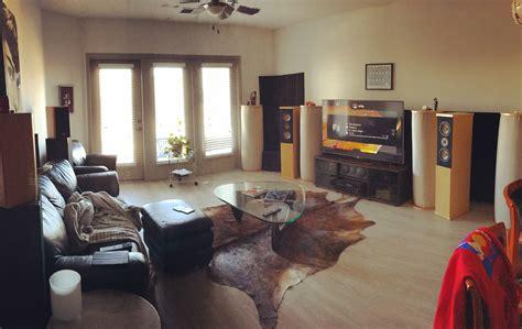 apartment  home theater setup  post