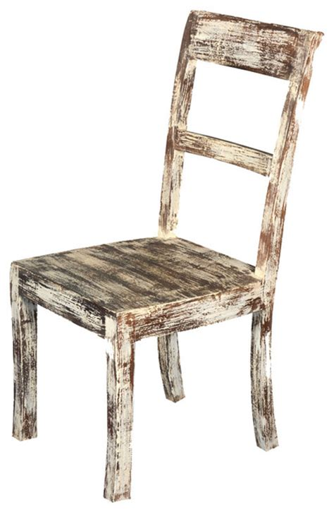 Rustic White Dining Chairs Distressed White Dining Chairs Distressed Wash White Finish Country Style Dining Set White