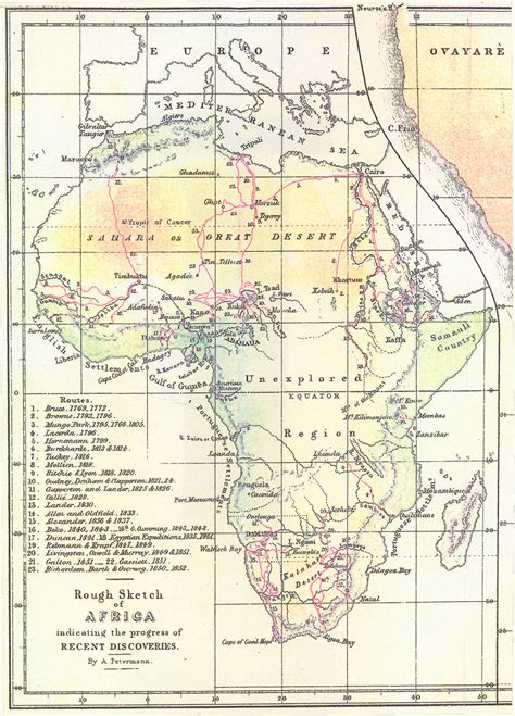 a sketch of africa map reframing the victorians treasure maps and fool s gold