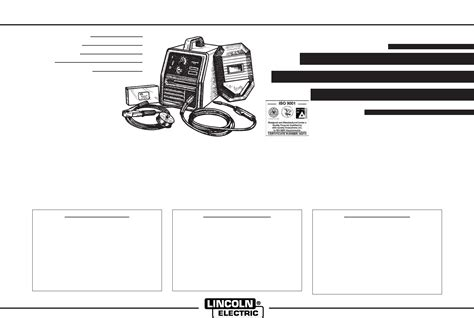 lincoln welder manuals lincoln electric welder imt460 d user guide
