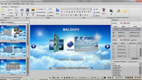 templates for aurora 3d presentation version history what s new of aurora 3d presentation