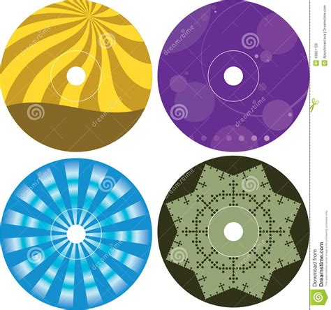 cd label design template cd dvd label design template stock vector image 43801156