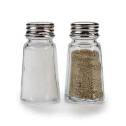 Salt And Pepper Shakers by 1 Oz Flat Paneled Salt And Pepper Shaker 12 Shakers Pack