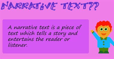 membuat narrative text beserta artinya contoh descriptive text dan soal hontoh