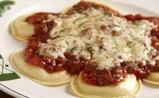 cheese ravioli lunch dinner menu olive garden