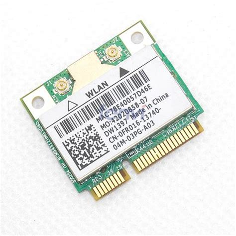Wifi Card Broadcom Bcm93411mcag broadcom bcm94312hmg dual band wireless wifi half mini pci e card for dell dw1397 2 4ghz 5ghz