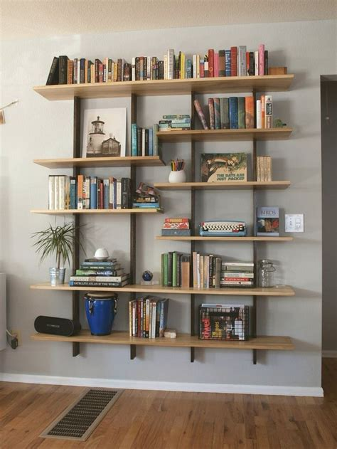 How To Shelf Books by Best 25 Bookshelves Ideas On Wall Bookshelves