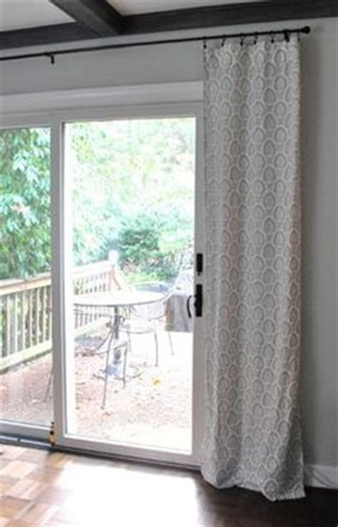 hanging curtains over sliding glass door curtains valance on pinterest valances sliding glass