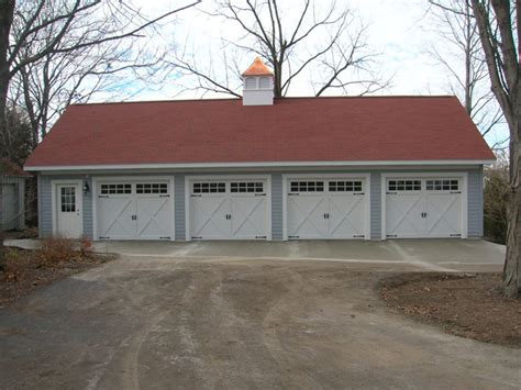 House Plans With Detached Garage Apartments carriage house four car coach house garages