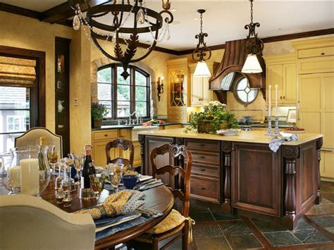 yellow and brown kitchen ideas yellow kitchen with french influence hgtv